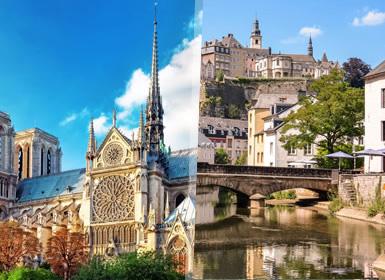 Paris, Luxemburgo, Alemanha e �ustria Em Detalhe