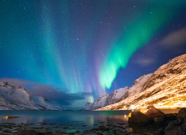 Tromsø, Auroras Boreais e Baleias Completo