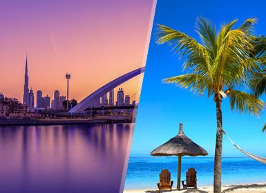 Emiratos e Ilhas do Índico: Dubai e Maurícias