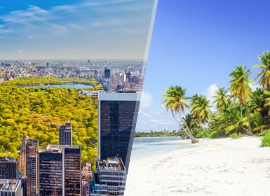 Nova Iorque e Punta Cana Essenciais Ao Seu Gosto
