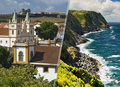 Açores: Terceira e São Miguel de avião