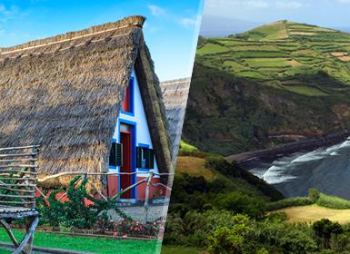 Madeira e São Miguel Completas Ao Seu Gosto