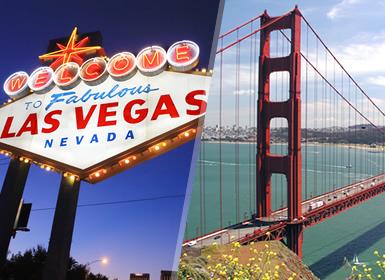 EUA: Las Vegas e São Francisco