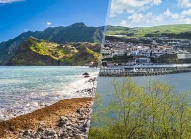 Açores: Faial e Terceira de avião