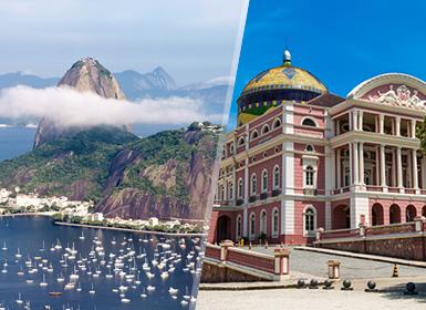 Brasil: Rio de Janeiro e Manaus