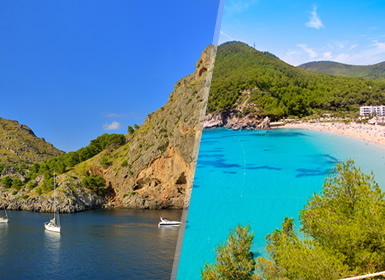 Maiorca e Ibiza Completas Ao Seu Gosto