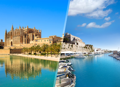 Espanha: Maiorca e Menorca