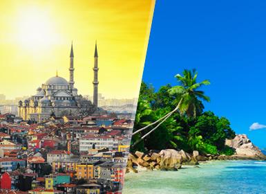 Turquia e Ilhas do Índico: Istambul e Seychelles
