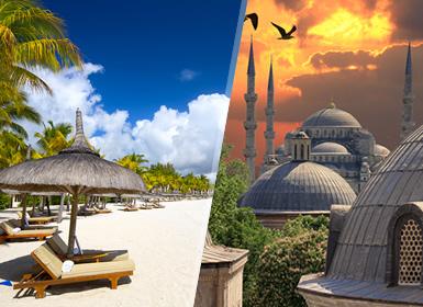Istambul e Maurícias Completas Ao Seu Gosto