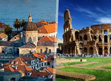 Adriático: Costa Croata, Eslovénia e Itália