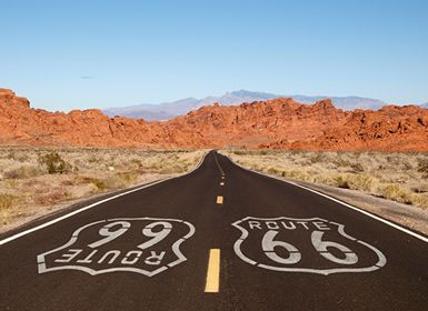 EUA: Route 66, desde Chicago a Los Angeles