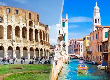Itália: Roma, Florença com Museu Ferrari, Veneza e Milão