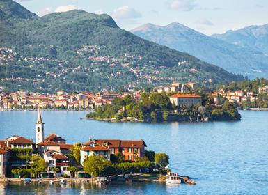 Itália: Região dos Lagos com Milão e Veneza