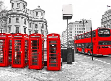 Inglaterra, Noroeste e Centro da Europa: Londres, Amesterdão e Berlim de avião