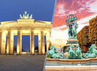 Sul e Centro da Europa: Paris, Luxemburgo, Reno e Alemanha