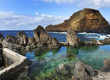 Madeira: Funchal, Zona Norte e Porto Moniz