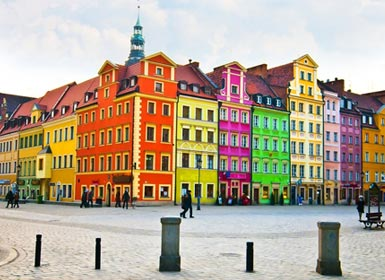 Europa Central: Praga, Budapeste e Polónia