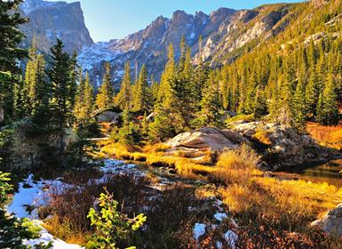 EUA: Capitais e Parques Nacionais do Oeste Americano