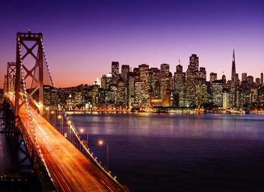 EUA: Las Vegas, Los Angeles, Fresno e São Francisco