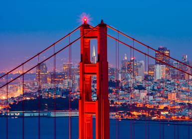 EUA: Los Angeles e São Francisco