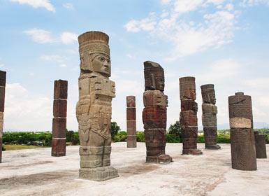 México: Cidade do México, Veracruz, Chiapas e Oaxaca