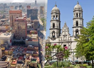 México DF e Guadalajara Essenciáis