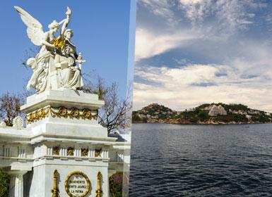 México DF e Acapulco Essenciáis Ao Seu Gosto