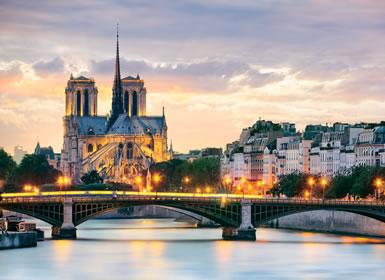 Sul da Europa: Paris, Veneza e Roma