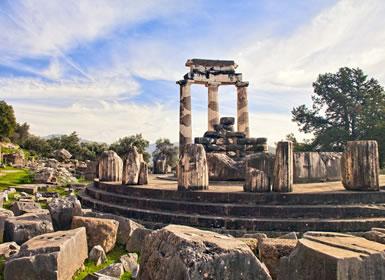 Grécia: Atenas, Olímpia, Delfos e Meteora