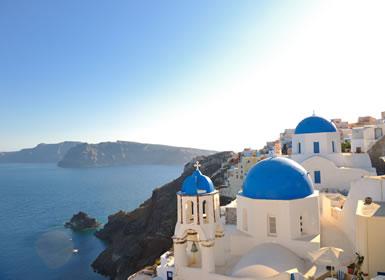 Grécia: Atenas, Mykonos e Santorini