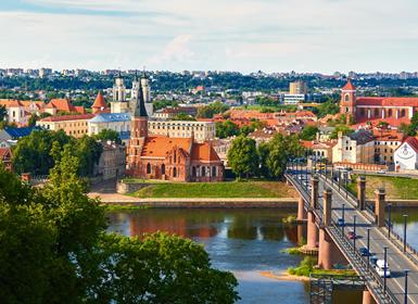 Norte da Europa: Vilnius, Riga e Tallinn