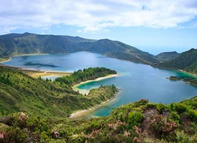 Açores: São Miguel, Faial e Ilha do Pico Completas  Ao Seu Gosto