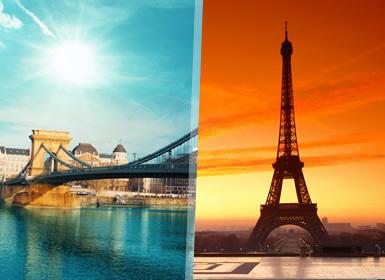 Praga, Viena, Veneza, Suíça e Paris Em Detalhe