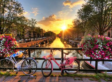 Inglaterra, Noroeste e Centro da Europa: Londres, Amesterdão e Berlim