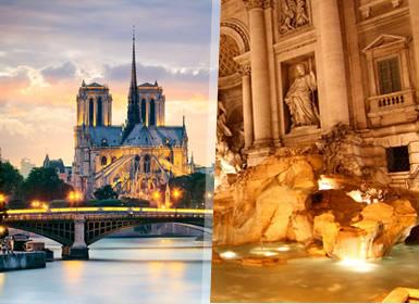 Sul da Europa: De Roma a Paris