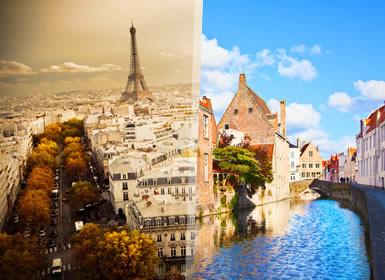 Paris e Países Baixos Essenciais