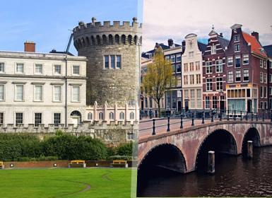 Ilhas Britânicas e Países Baixos: Dublin, Londres e Países Baixos