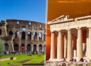 Roma, Grécia e Sul de Itália Em Detalhe