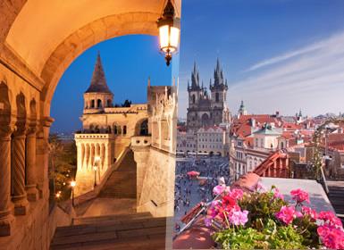 Europa Central: Praga, Budapeste e Viena em bus