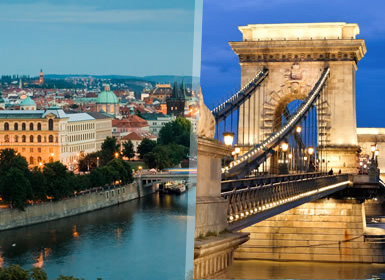 Praga, Budapeste e Viena Completos Ao Seu Gosto de comboio