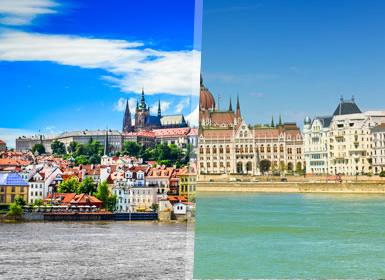 Praga, Viena e Budapeste Completos Ao Seu Gosto de comboio
