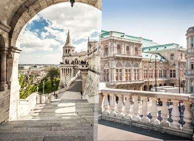 Praga, Budapeste e Viena Essenciais Plus