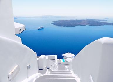 Atenas, Cruzeiro de 4 Dias e Santorini Em Detalhe
