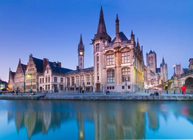 Noroeste Europa: Holanda e Bélgica