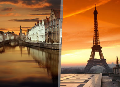 Paris, Países Baixos e Cruzeiro pelo Reno Em Detalhe