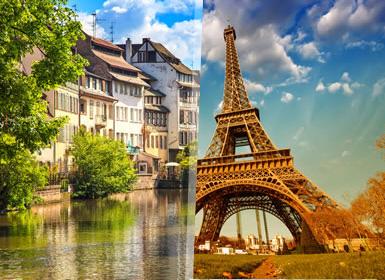 Paris, Países Baixos e Cruzeiro pelo Reno Em Detalhe Plus