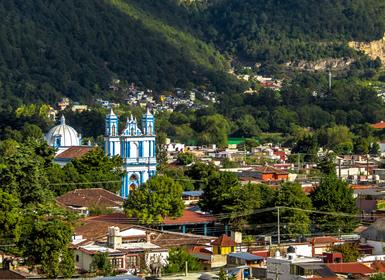 México: Cidade do México, Chiapas e Iucatão
