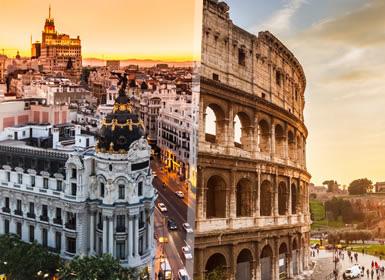 Roma e Madrid Em Detalhe