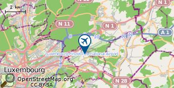 Aeroporto de Luxemburgo