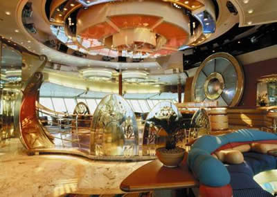 Foto 4 - Vision of the Seas - sala Viking Crown